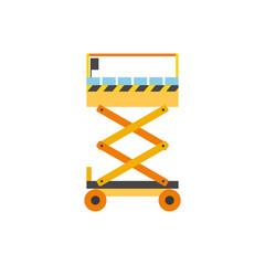 Scissors lift vector icon