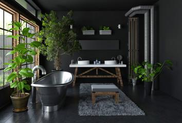 Bathroom interior concept