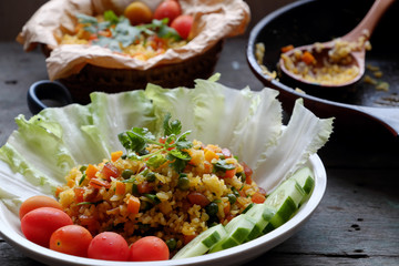 Vietnam food, fried rice
