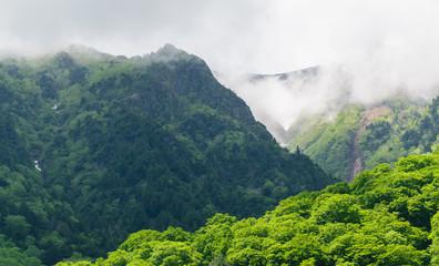 kurobe, tateyama mountain