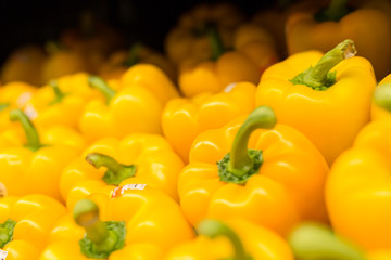 Peppers in produce
