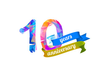10 (ten) years anniversary.