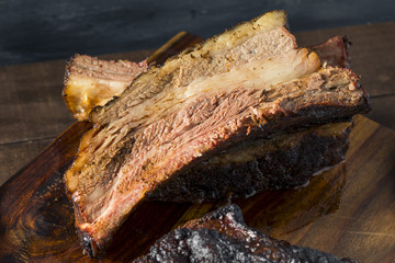 Wall Mural - Delicious Smoked Beef Ribs