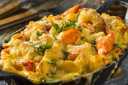 Homemade Lobster Macaroni and Cheese