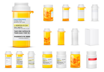 16 Prescription Medication Mockups