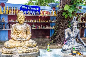 wat kunaram koh samui thailand