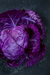One red cabbage
