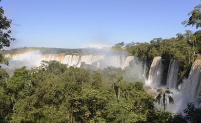 Cataratas del Iguazu, Misiones, Argentina. Siete Maravillas del Mundo, UNESCO.