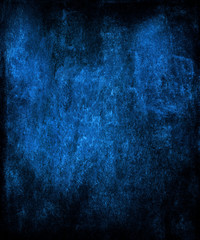 Blue grunge abstract texture background.