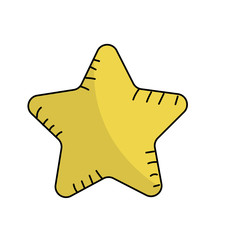 shiny star in the sky art