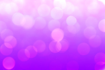 Violet-purple blurred abstract bokeh background