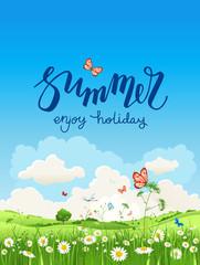 Enjoy summer time