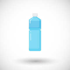 Bottle of water vector flat icon