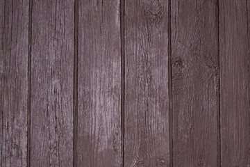 Texture of painted brown old wooden gate