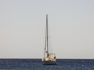 A ship in the atlantic ocean