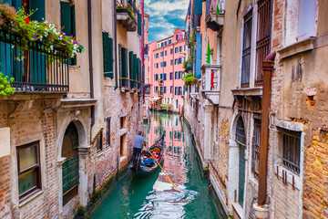 Photo sur Plexiglas Venice Gondola in Venice, Italy