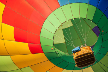 Photo sur Plexiglas Montgolfière / Dirigeable hot air balloon fiesta event exhibition