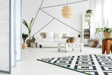 Flat in Scandinavian style