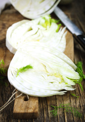Raw Organic Fennel Bulb
