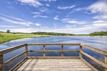 Lago de verano / Summer Lake