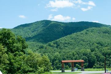 Raven's Roost Overlook, Blue Ridge Parkway Mountains