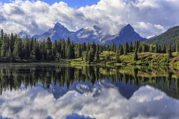 Little Molas Lake, San Juan Mountains, Colorado