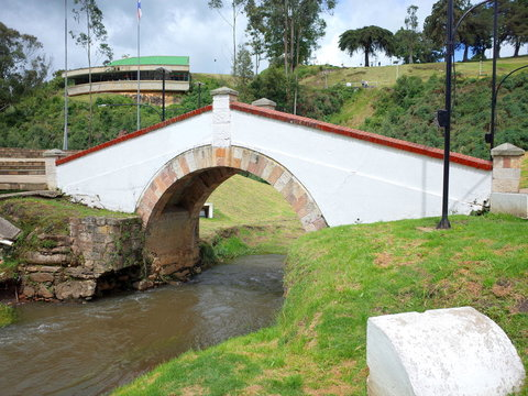 Puente de Boyaca, the site of the famous Battle of Boyaca where the army of Simon Bolivar, with the help of the British Legion, secured the independence of Colombia