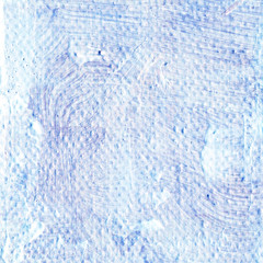 Abstract textured acrylic background in blue shades