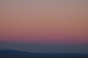 Keuken foto achterwand Candy roze Sunset