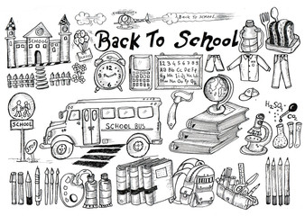 back to school, sketch