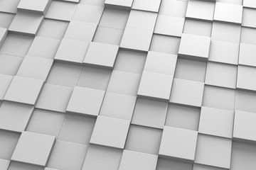 Squared Tiles 3D Pattern