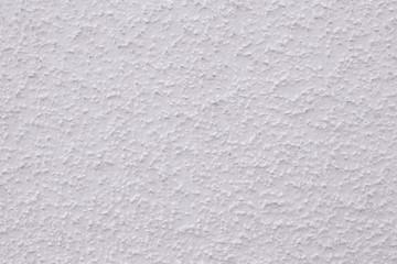 Weiße Putzwand