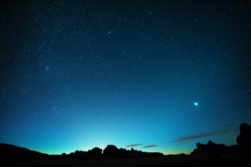 Teneriffa, Stars, Venus, Teide, Lava Formations
