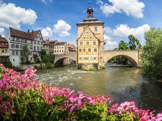 historisches und romantisches Bamberg: altes Rathaus