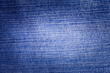 Blue Jeans texture background.