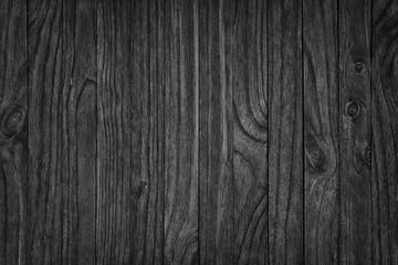 black wooden background or gloomy wood grain texture