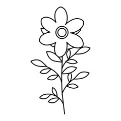 naturals flowers tattoos icon vector illustration design graphic