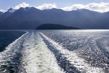Howe Sound Ferry Wake