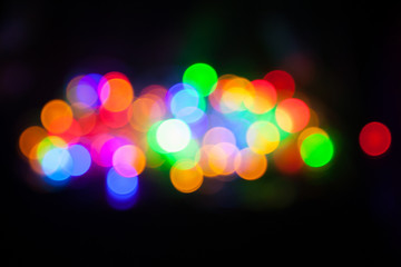 Bokeh: Rainbow Cluster