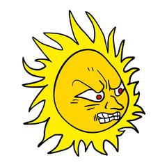 angry sun draw