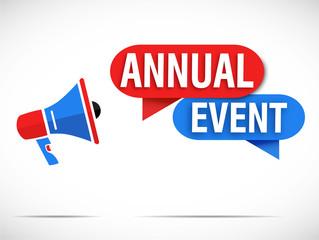 mégaphone : annual event