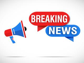 megaphone : breaking news