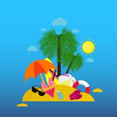 Poster Magic world Summer