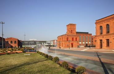 Manufaktura in Lodz. Poland