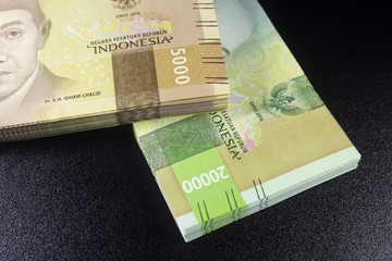 New rupiah money indonesia currency cash finance payment
