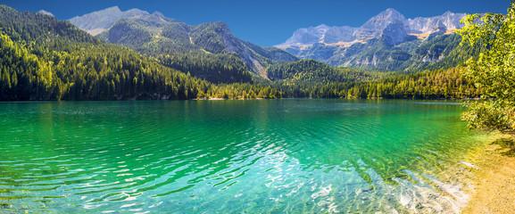 Panorama del Lago di Tovel
