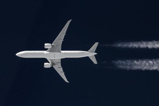 Airliner während des Fluges 2