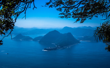 Guanabara Bay View from SugarLoaf