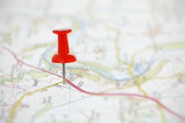 Destination on a Map