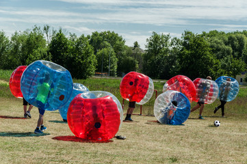 Bubble Soccer Football‎